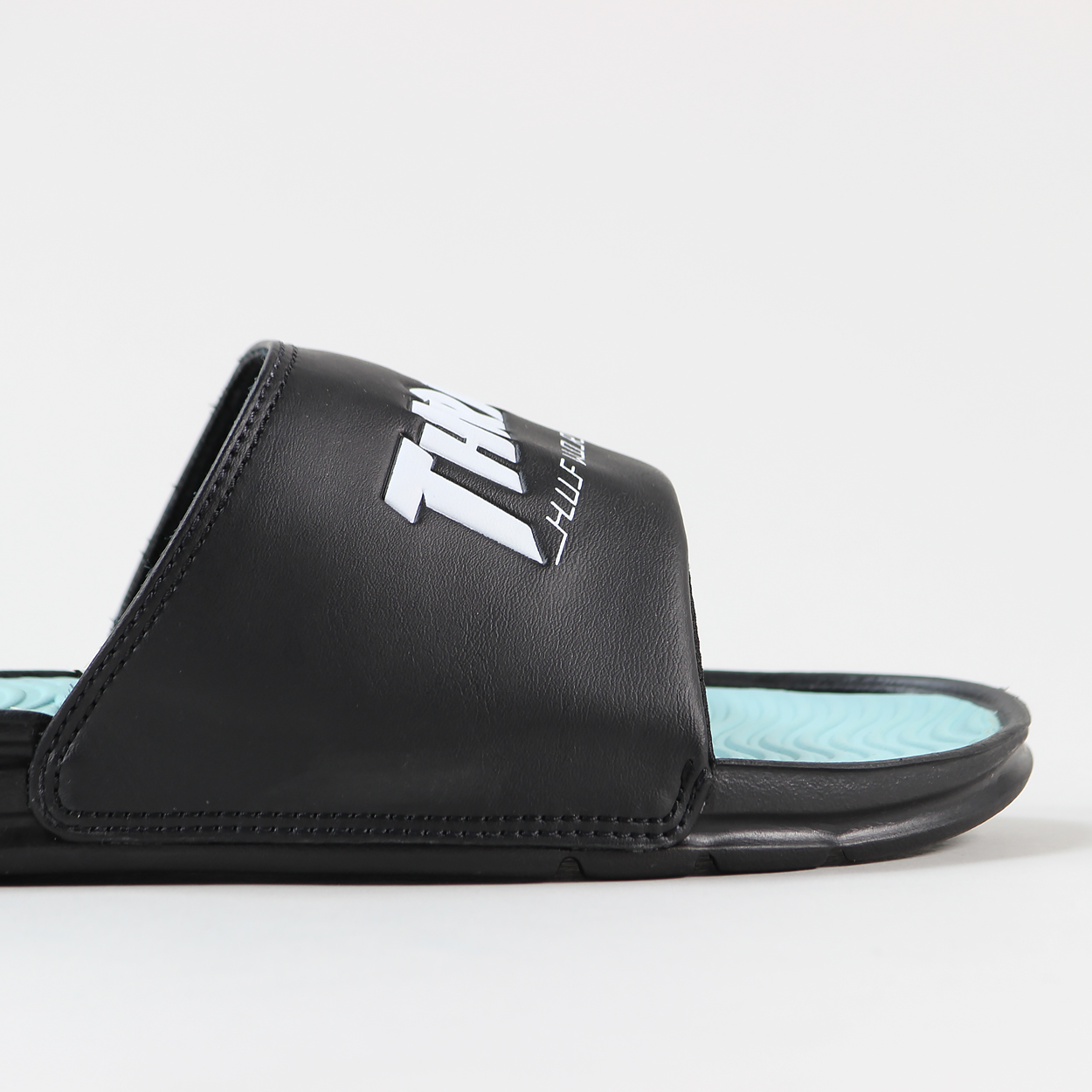 32f8205795a1 From the latest Huf Worldwide and Thrasher Worldwide we have these awesome  slides...or sandals as we call the up north. Serious ace style!