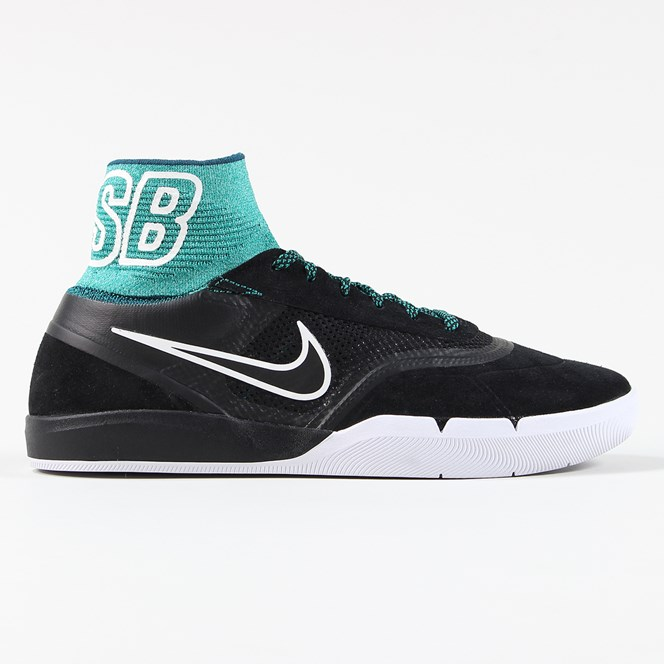 Nike SB Hyperfeel Koston 3 Shoes Black Teal White