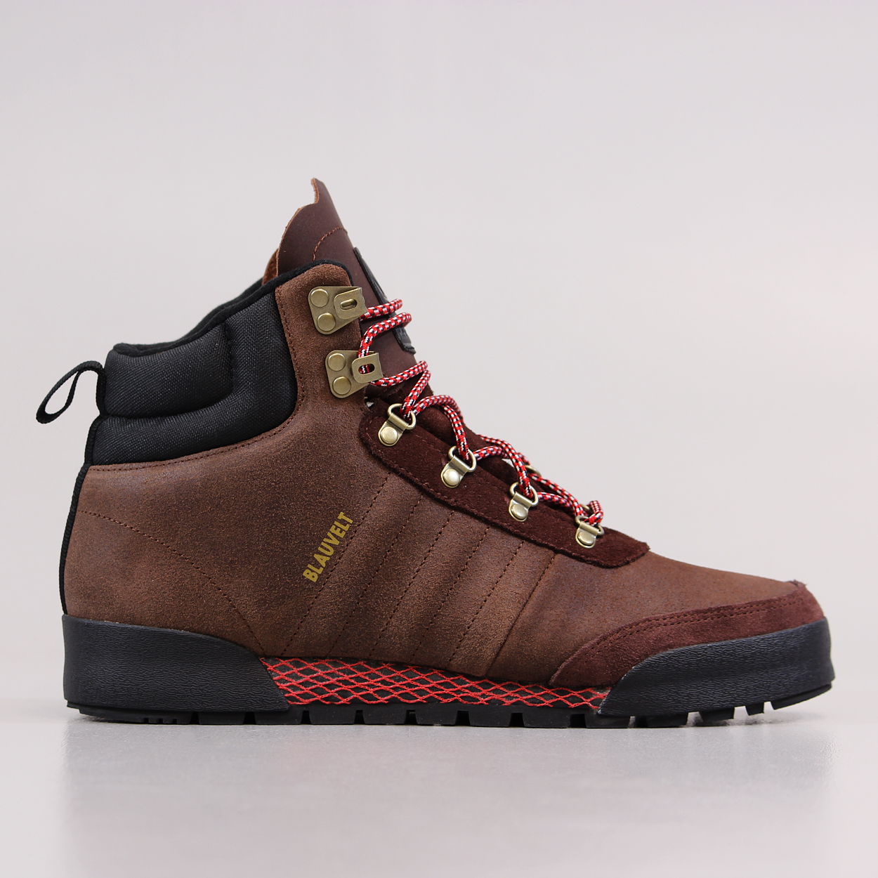 sports shoes 9e985 2b95d Adidas Blauvelt Skateboarding Mens Jake Boot 2.0 Shoes Brown Red £54.00