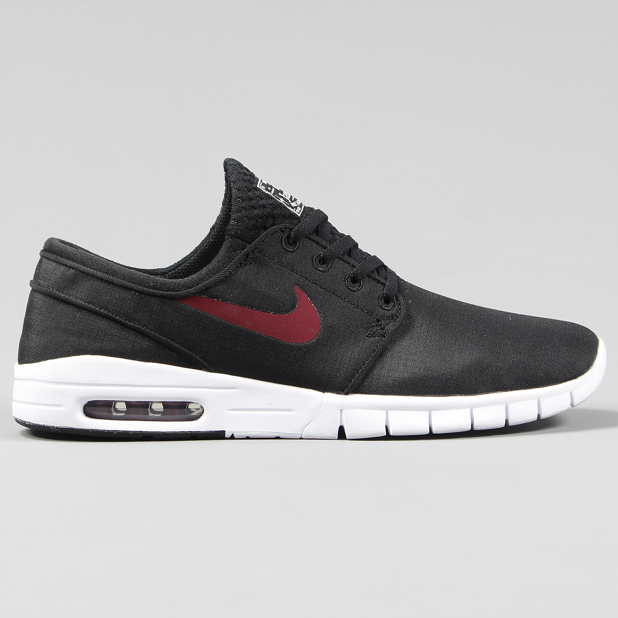 online retailer 14d5d 984ad Nike SB Stefan Janoski Max Mens Shoes Black Uppers Red White £67.50