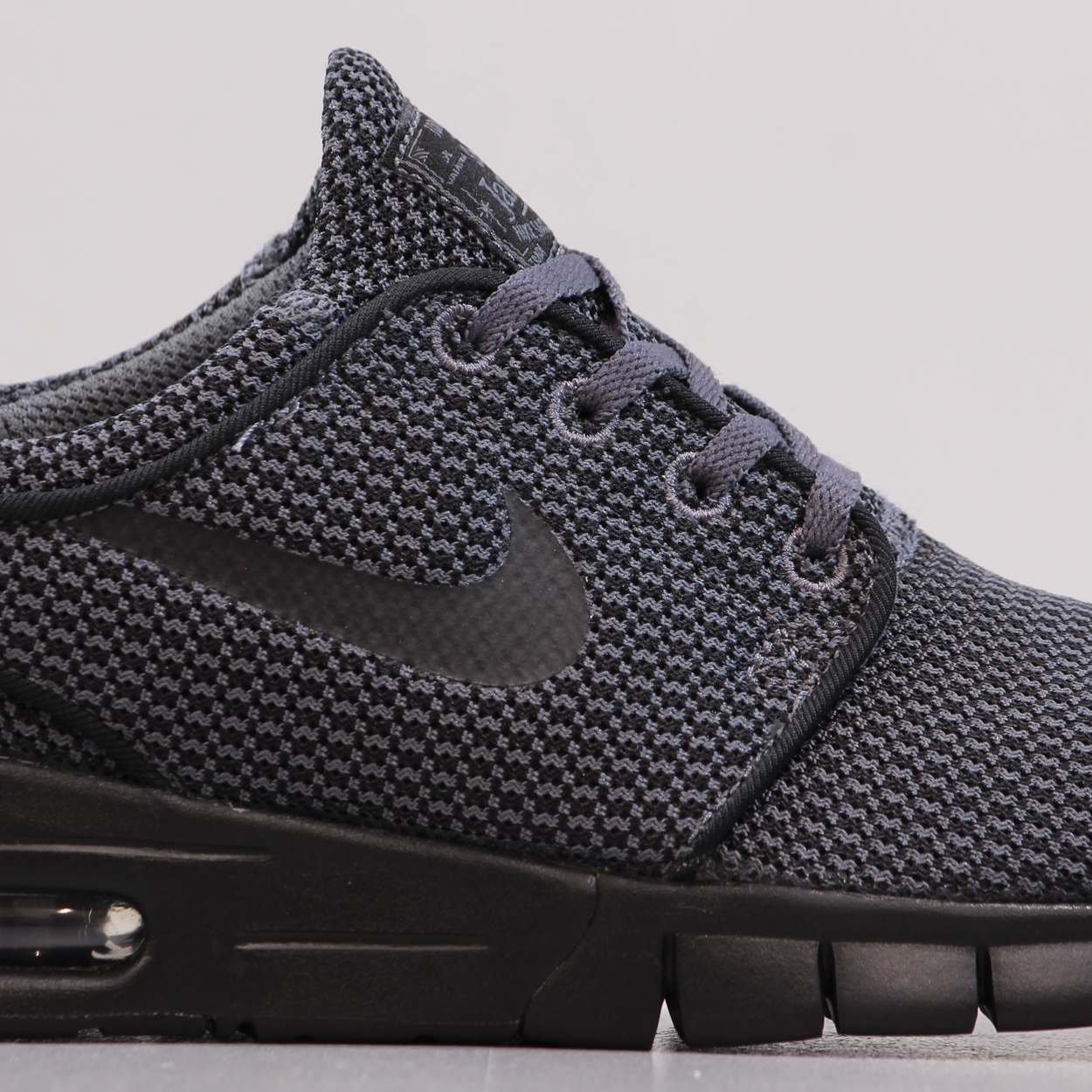 e61df5eadab A sleek and stealthy colour way on the Janoski Max shoes from Nike SB