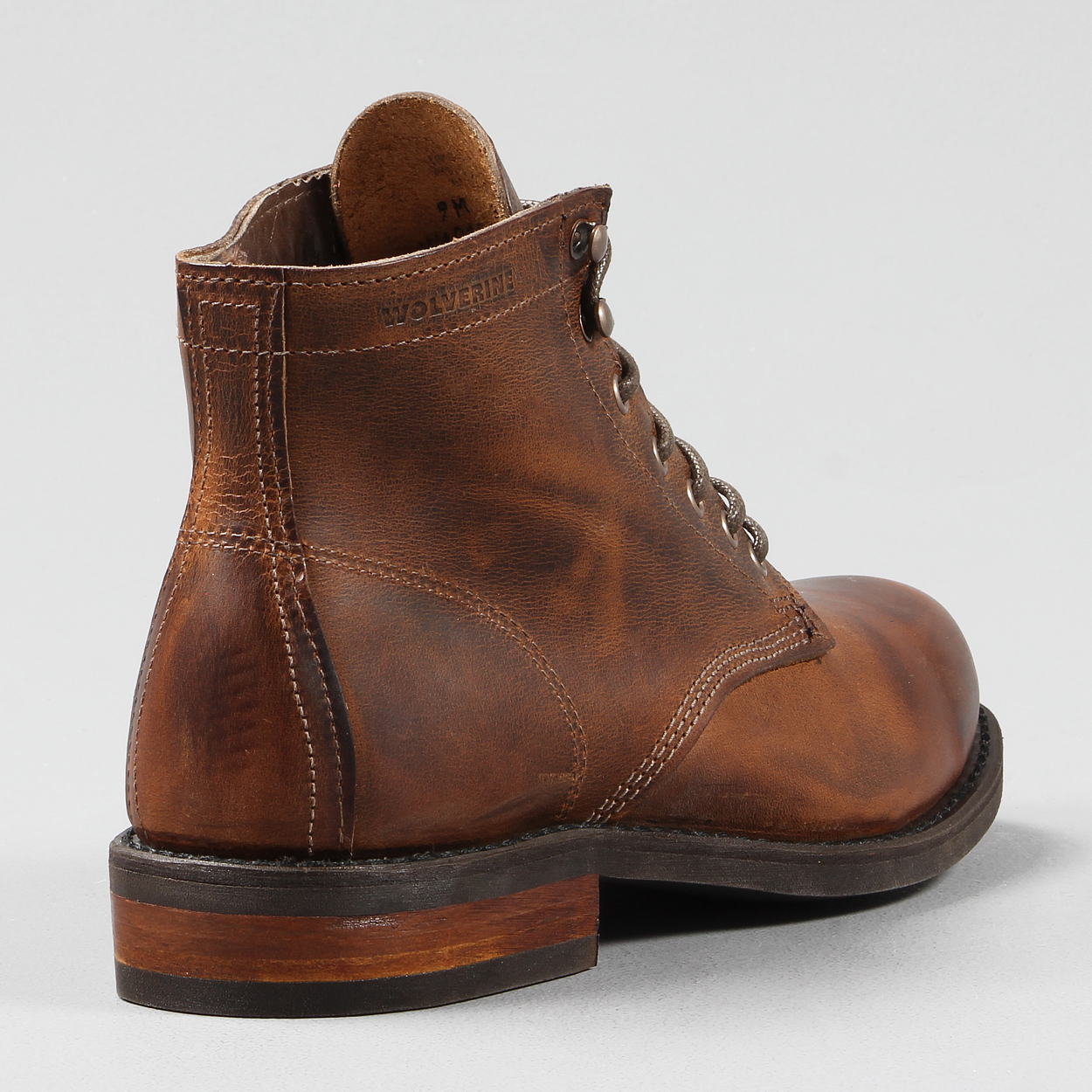 397151664a7 Wolverine 1883 Mens Kilometer Full Leather Boot Brown Leather £187.50