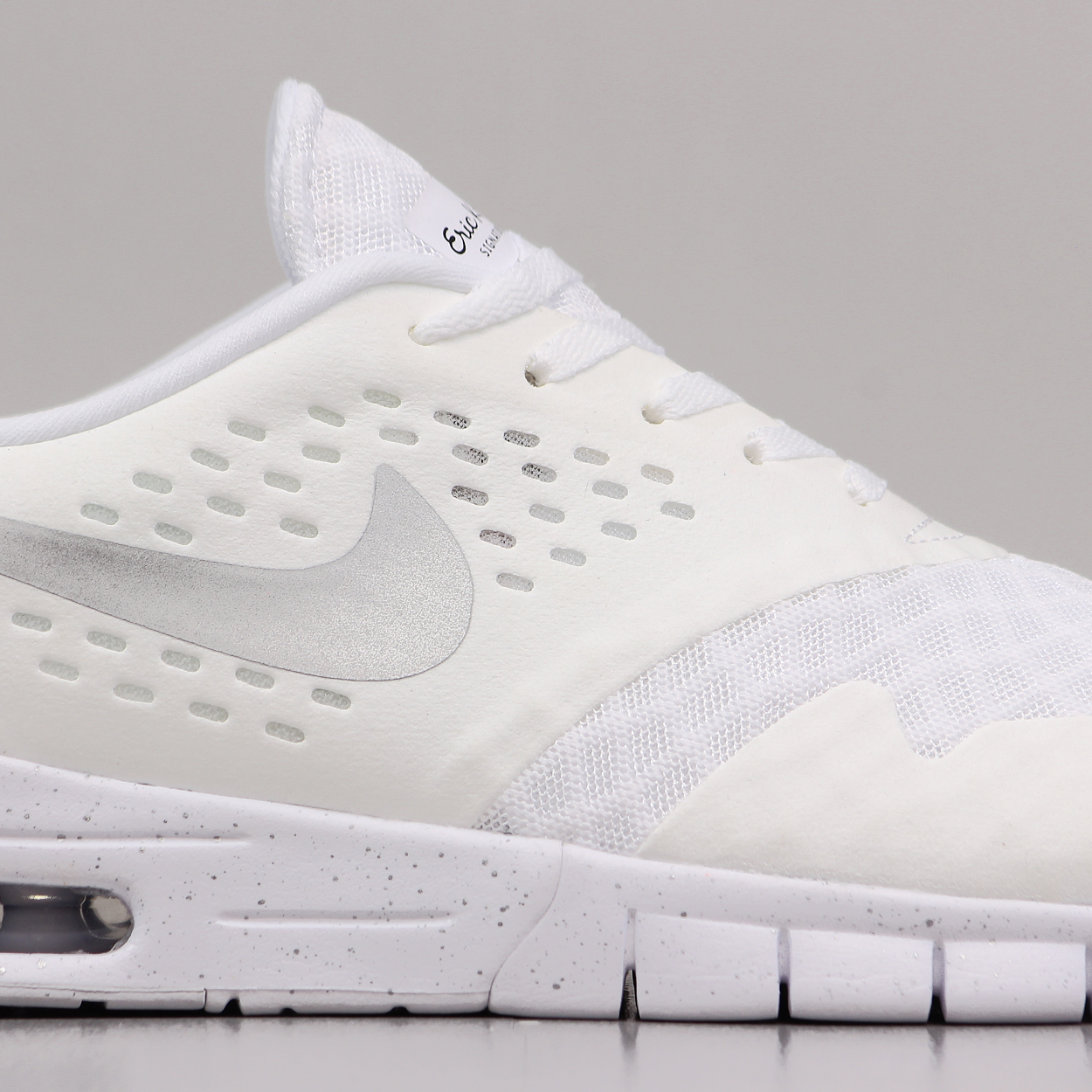 new style 8547c f1671 A fresh white and silver colour way on the signature Eric Koston 2 Max  Shoes from Nike SB