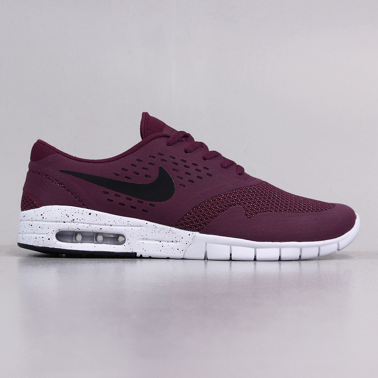 low priced a9432 05dd6 Nike SB Koston 2 Max Mens Skate Shoes Villain Red Black White £70.88