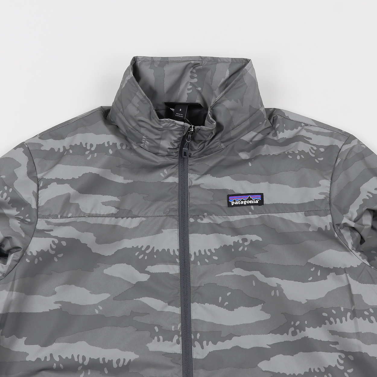 Patagonia Mens Light And Variable Jacket Rock Camo Hex