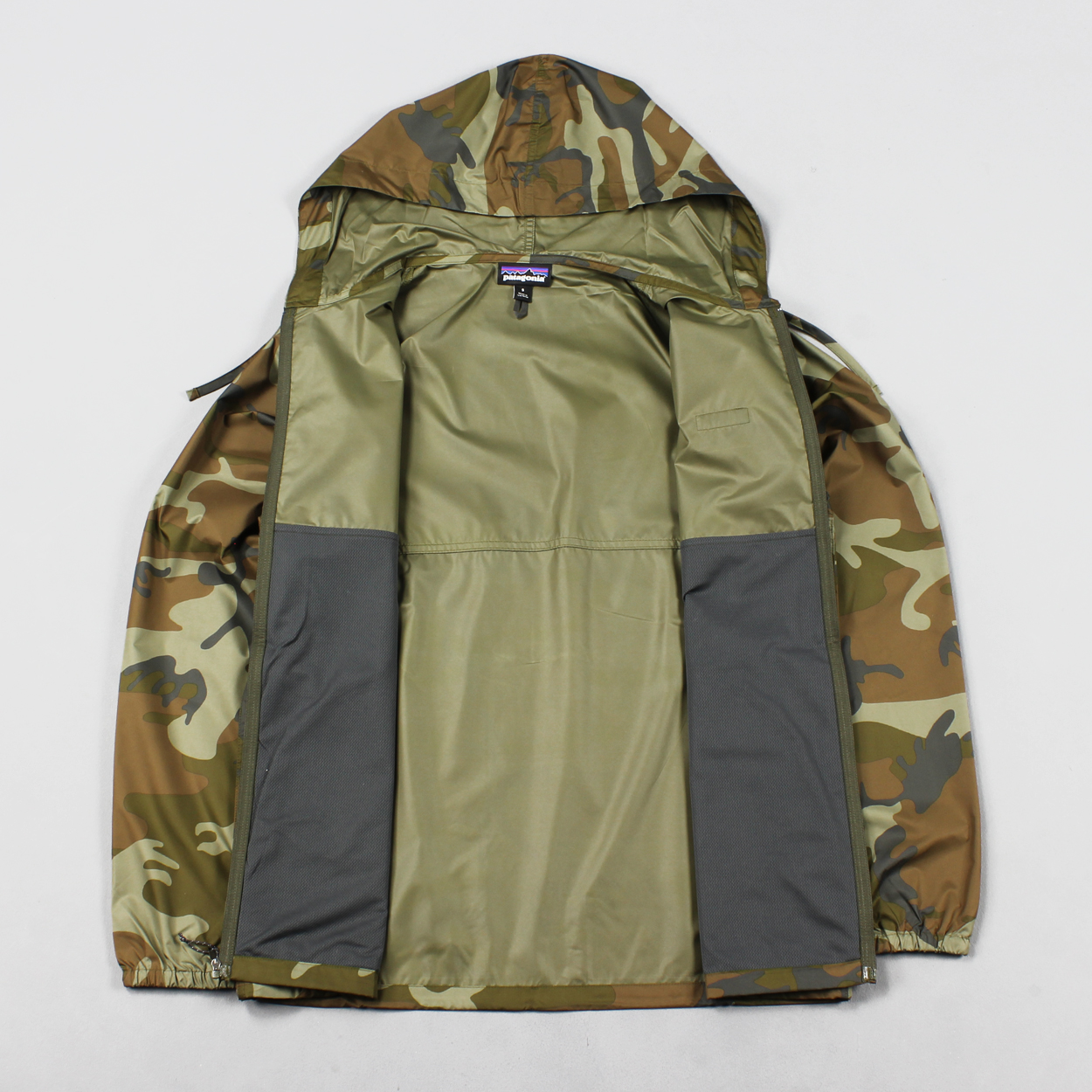 Patagonia Mens Light And Variable Hooded Jacket Forest