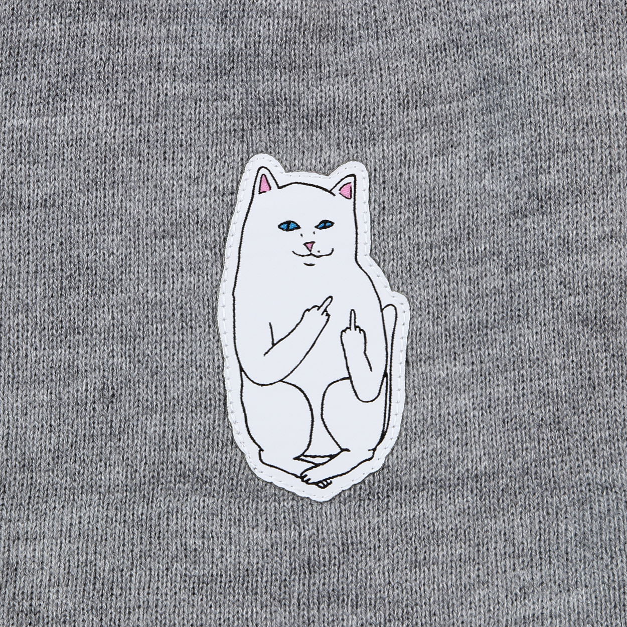cc42d1c7496 Protect your ears with the Lord Nermal beanie hat from Ripndip. Logo  embroidery of the Lord himself is featured on the front of the hat.