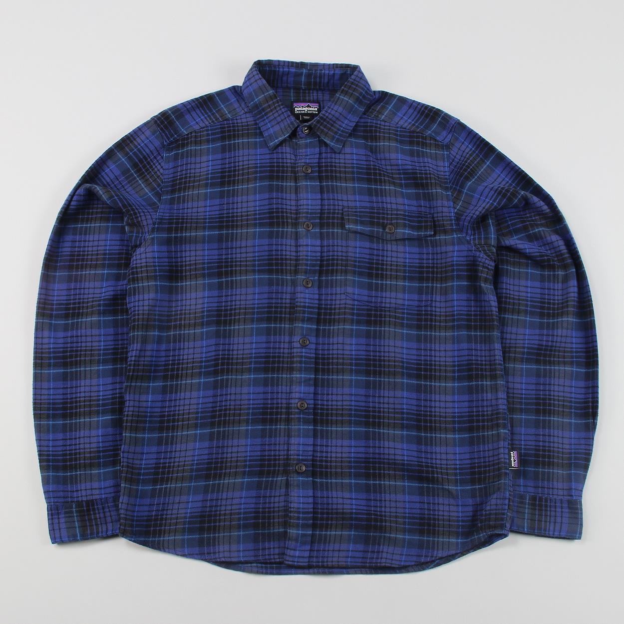 Patagonia Men 39 S Lightweight Long Sleeve Fjord Flannel