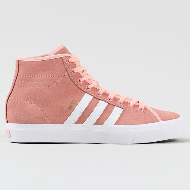 Adidas Matchcourt High Remix Nakel Smith Shoes Haze Coral White