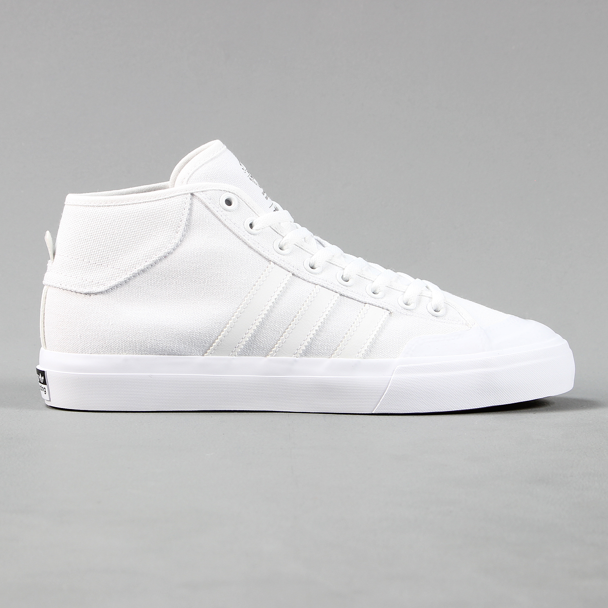 e9aed7154b Adidas Skateboarding mid tops white canvas mens trainers shoes £43.40