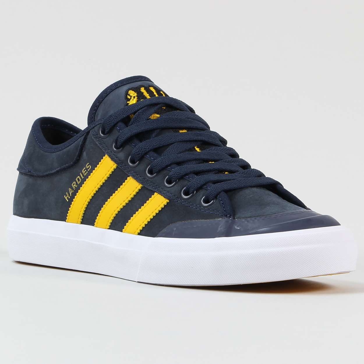 pretty nice 06b07 fc2b1 The Three Stripes in collab with Hardies Hardware bring us these proper bad  boy Matchcourts! Get some before they're all snapped up. Adidas