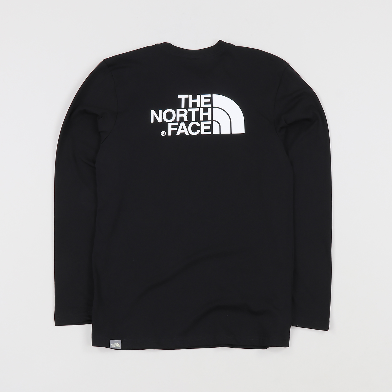 049f21662 The North Face Mens Outdoor Long Sleeve Easy T-Shirt Black White £17.00