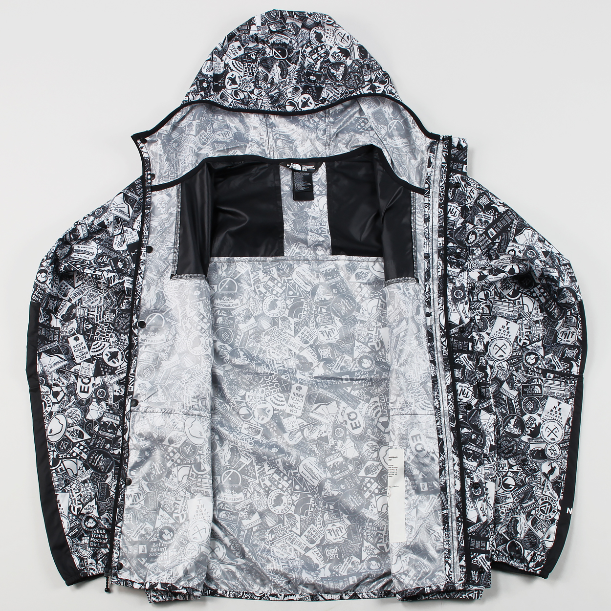f508197fc The North Face Mens 1985 Seasonal Mountain Jacket Stickerbomb £46.00