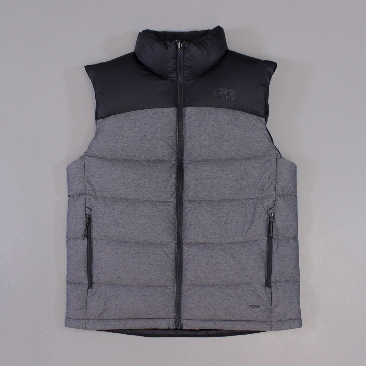 The-North-Face-Mens-Nuptse-2-Down-Filled-Vest-Gilet-Asphalt-Grey-Heather