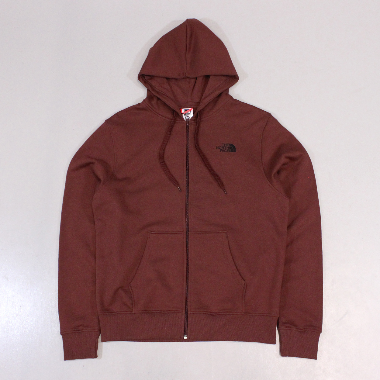 69bcf53d43b8 Cherry stain brown burgundy North Face open gate mens jumper £38.00