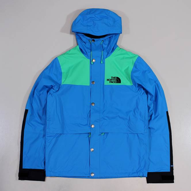 The North Face Mens 1985 Rage Mountain Jacket Quill Blue