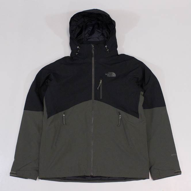 The North Face Mens Salire Insulated Jacket Black Ink