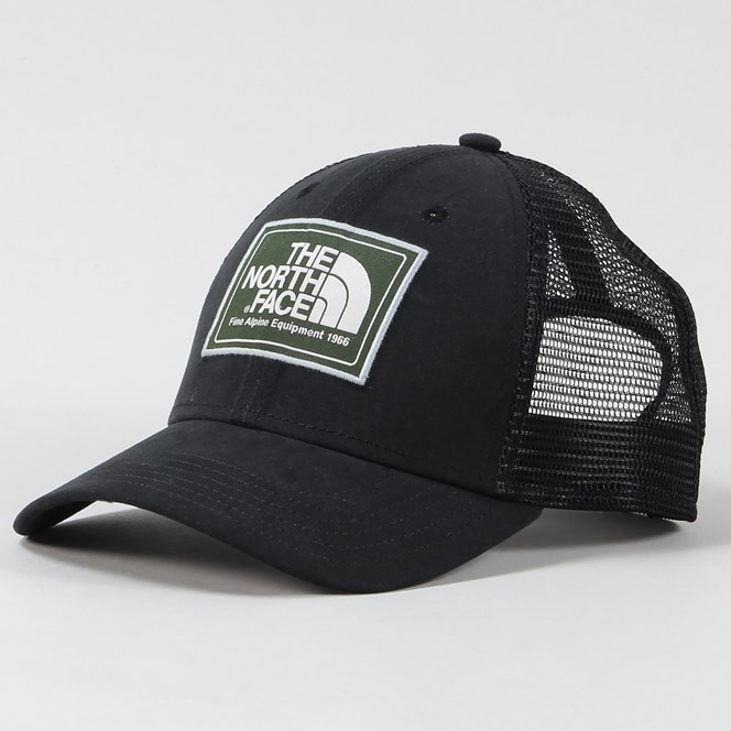 The North Face Mudder Trucker Cap Black Thyme