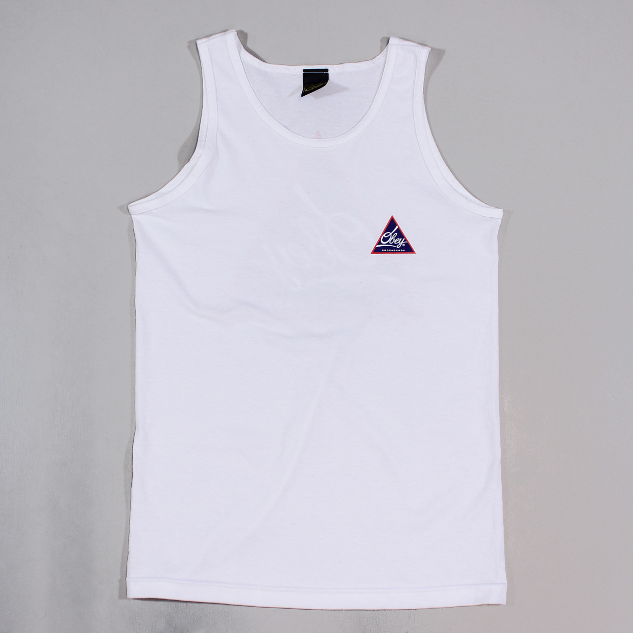 f077c23366f65 Summer is on the way or even if you are off abroad this Next Round Obey Tank  is perfect.