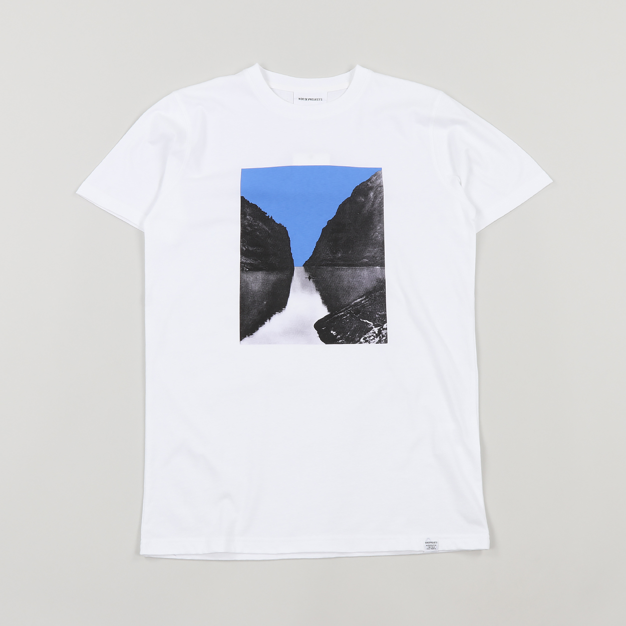 295815483d8 Norse Projects Mens Niels Naeroyfjord Short Sleeve T Shirt White £55.00