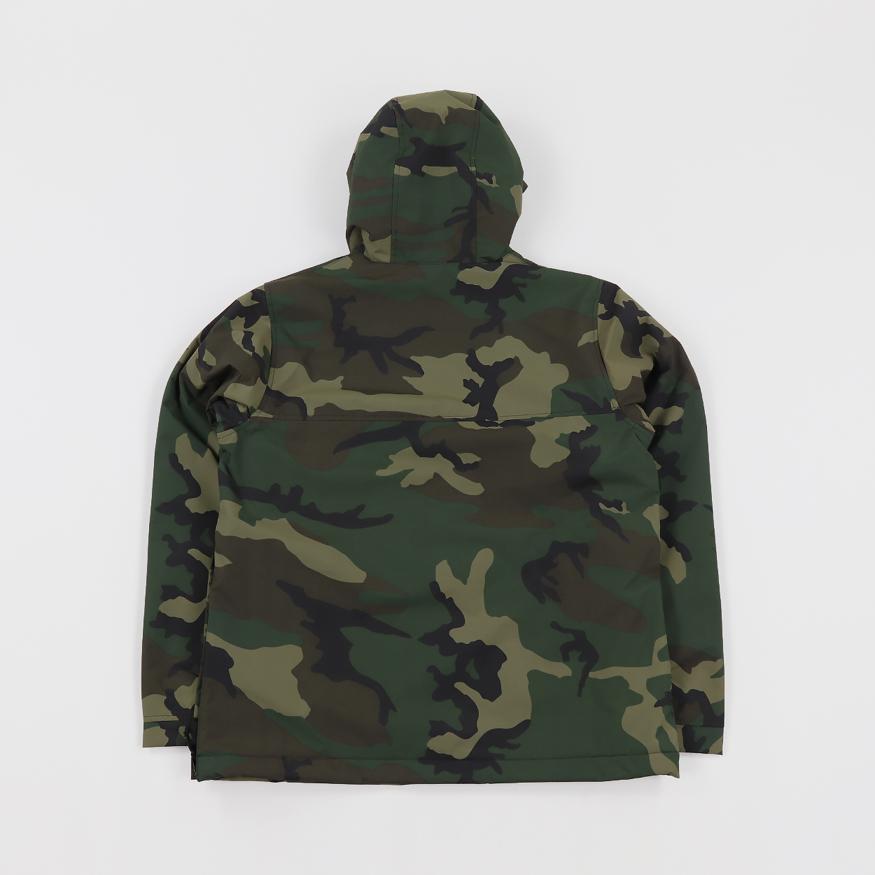 c8dfcf4a A pullover style jacket from Carhartt Work In Progress. The Nimbus features  a zipped kangaroo pocket and a side zip for ventilation.