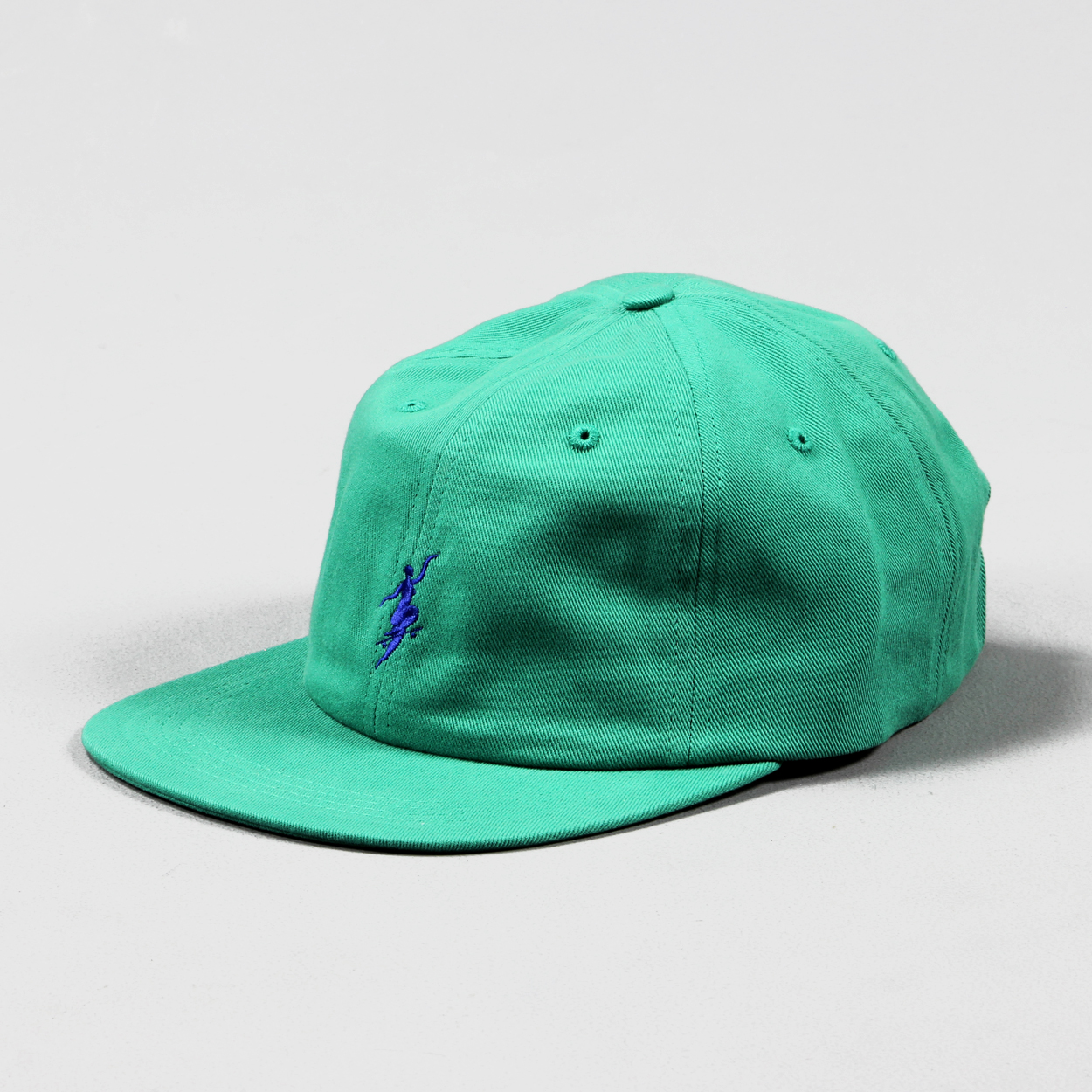 a15790f4 Polar Skate Co. No Comply Adjustable Buckle Cap Hat Green Blue £26.25