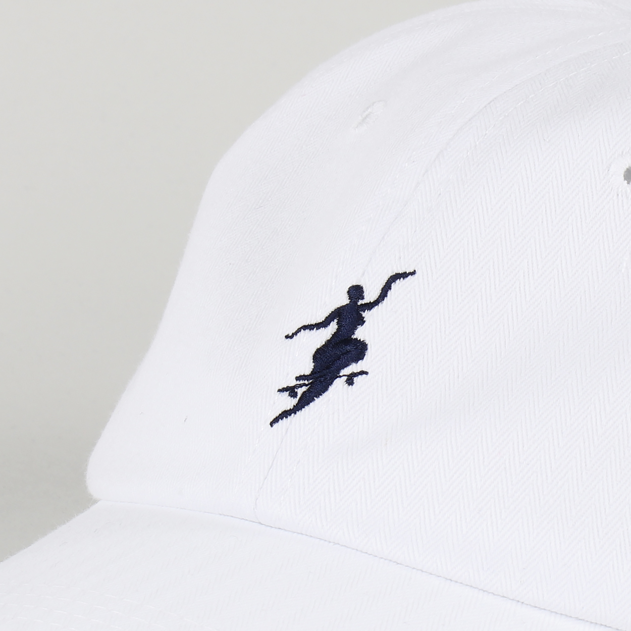 b6b8756c An adjustable six panel design cap from Polar Skate Co. which features an  embroidered logo to the front, a curved peak and also air holes to each  panel of ...