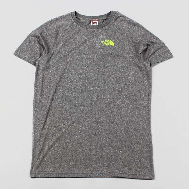The North Face Mens North Faces T Shirt Grey Heather Green