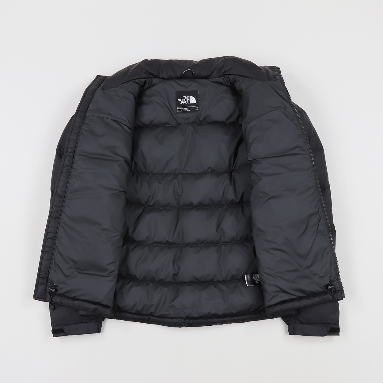 3d15acc17740 The North Face Nuptse 2 Winter Jacket Black High Rise Grey £126.00