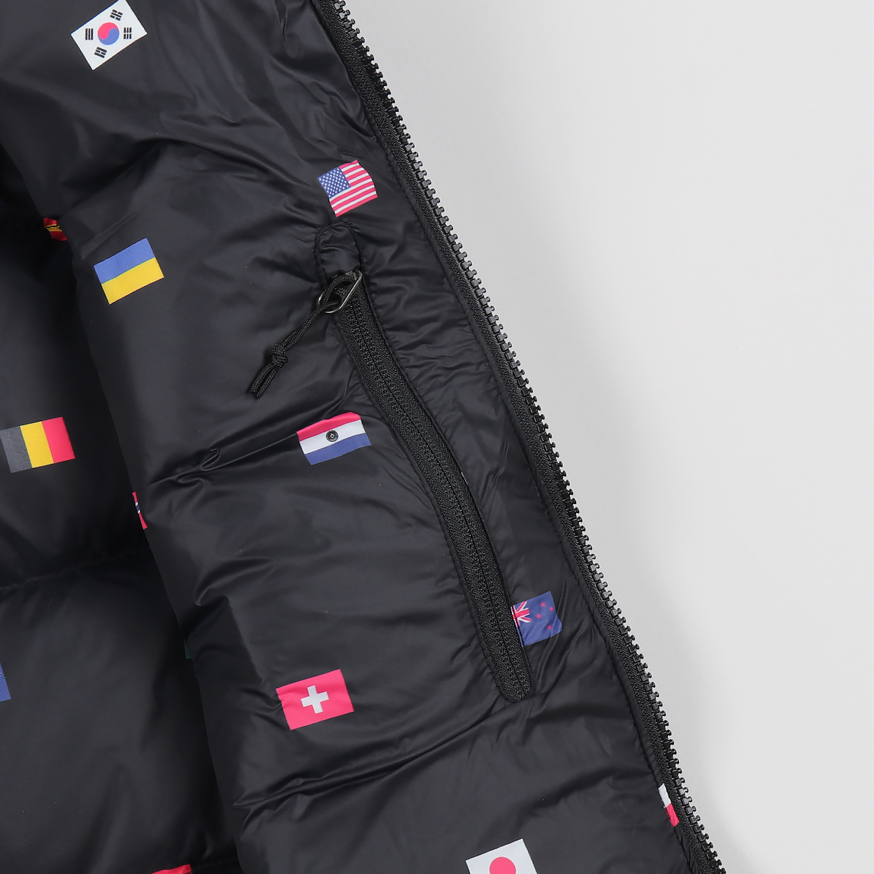 19636bef7 The North Face IC International NSE Puffer Vest Black Flag Print £86.00