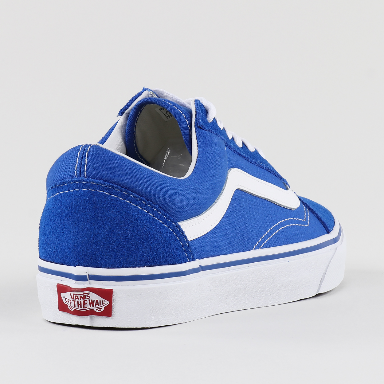 89b65780a0 The classic Vans Old Skool shoe with a blend of suede and canvas in the  upper. Flat laces and inconic stitching meet this simple and timeless  design.