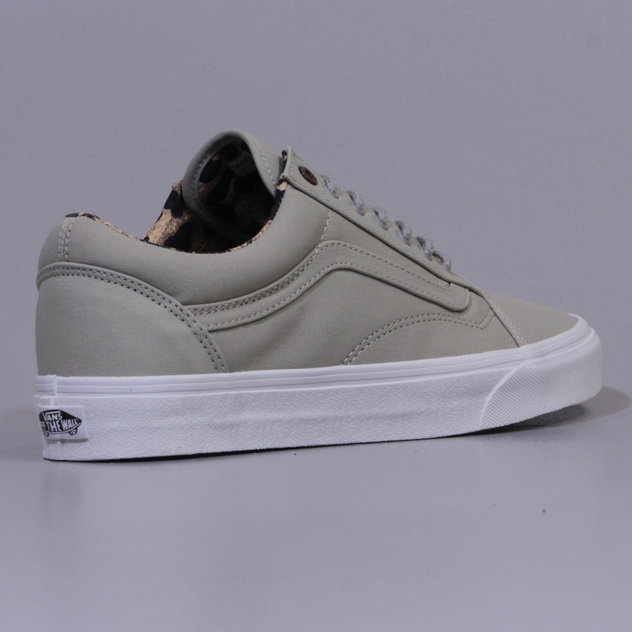 5fdedbfd320 Vans Old Skool Reissue CA Coated Twill Taupe Grey White Tortoise £48.75