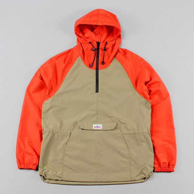Penfield Pac Jac Two Tone Jacket Orange Tan