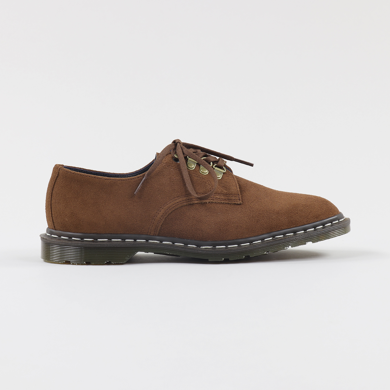 f58690b6a6b Dr Martens Mens Nanamica Collab Plymouth Suede Shoes Polo Brown £110.00