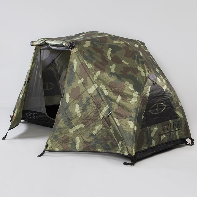 Poler Outdoor Stuff The One Man Tent Green Camo