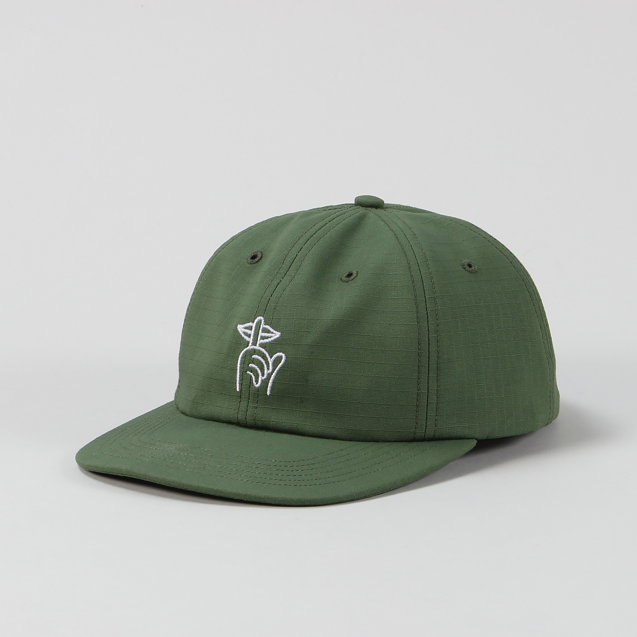 The Quiet Life TQL Ripstop Shh Polo Adjustable Hat Army Green £25.20 1b9cbc99fbe