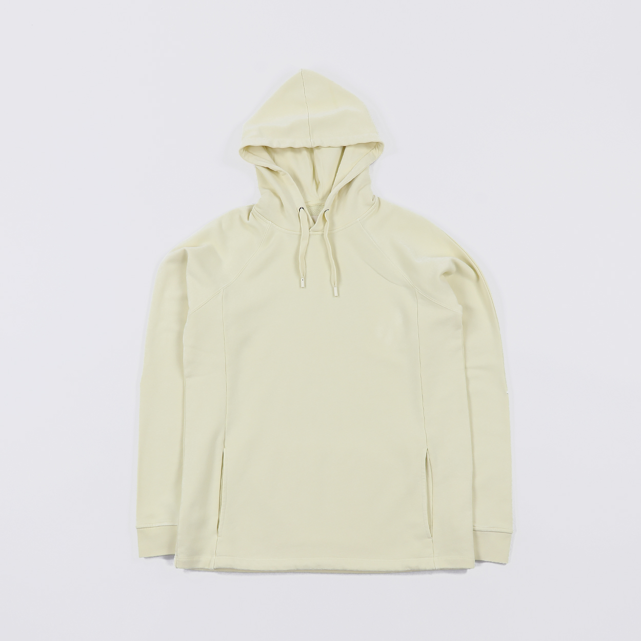 e542db3c9 Folk Clothing Mens Rivet Hood Sweatshirt Soft Yellow £80.00
