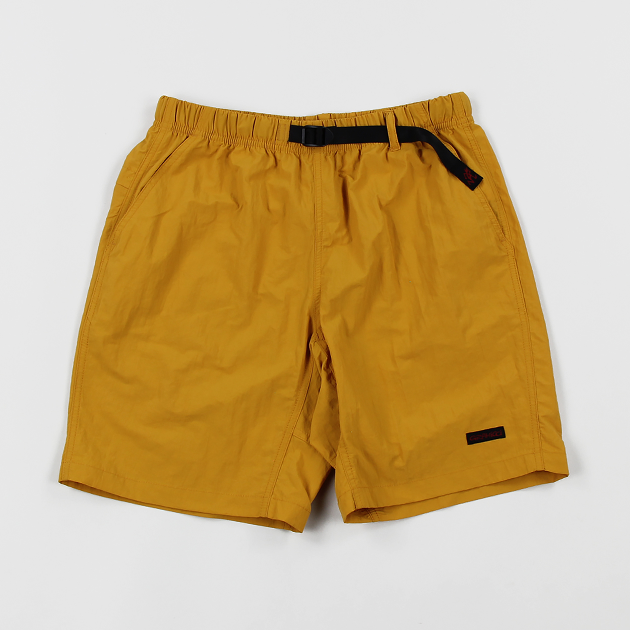 6189bfb1e4 Gramicci Mens Lightweight Shell Packable Shorts Mustard Yellow £65.00