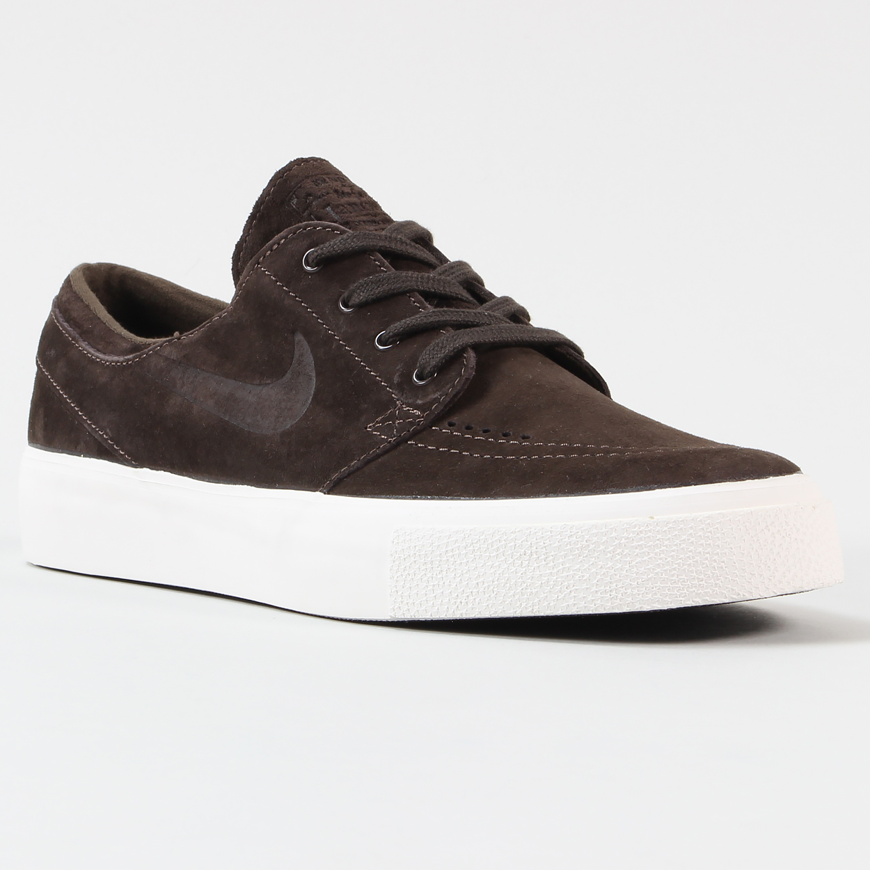 release date: dcc6b d2667 The Stefan Janoski Premium model from Nike SB features double sided Swoosh  and a herringbone tread for grip along with a logo tab to the tongue.