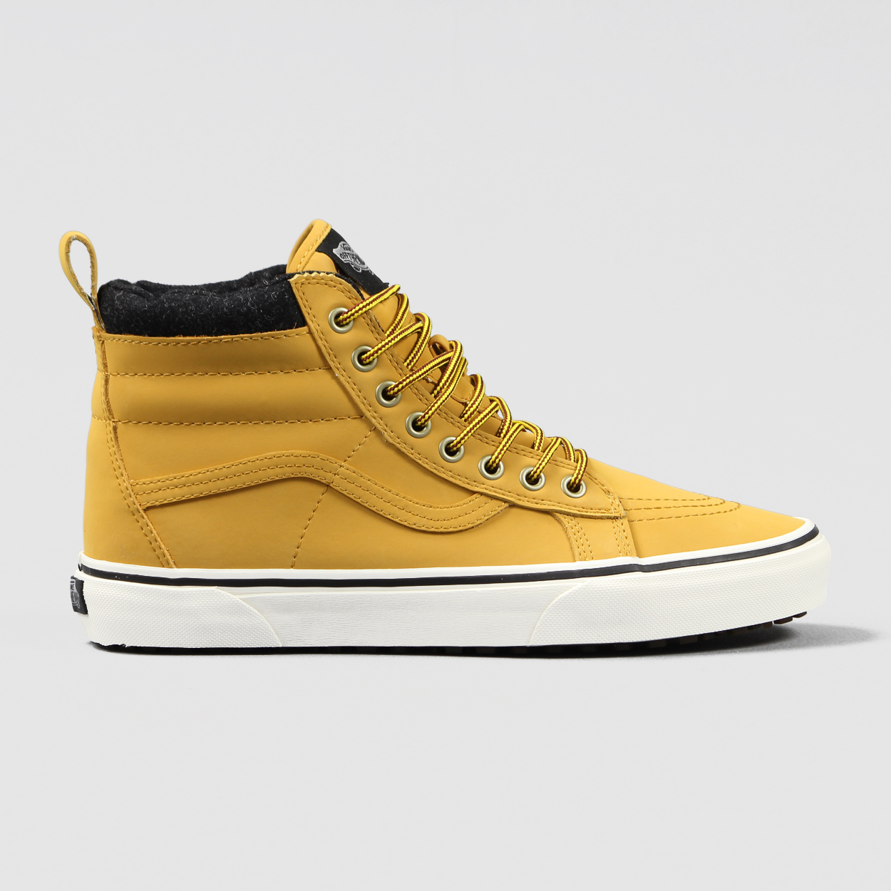 3044ebe5f1 Vans Mountain Edition Mens Skate High Top Trainers Yellow Shoes £52.50