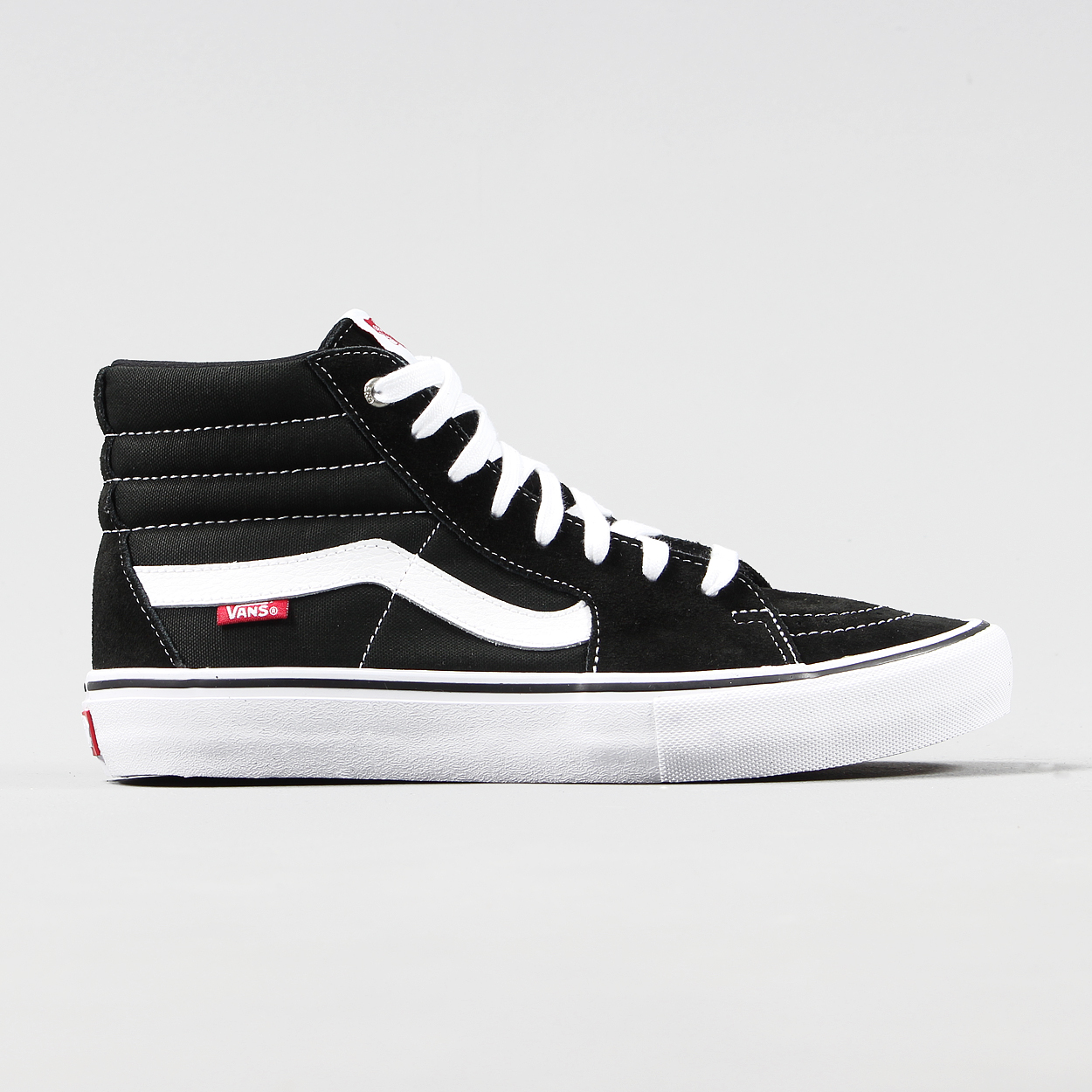 ca2d2d90d95 Vans Core Skate Sk8 Hi Pro Mens Suede Shoes Black White High Top £55.00