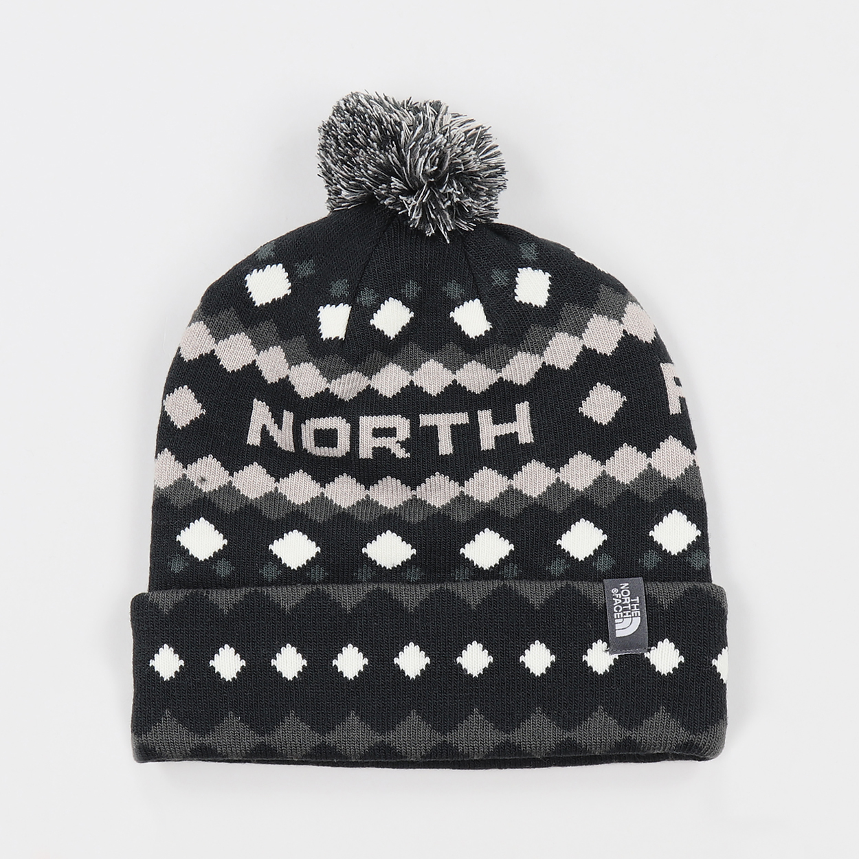 The North Face Ski Tuke beanie bobble hat black £17.50 10ec89d7dfe