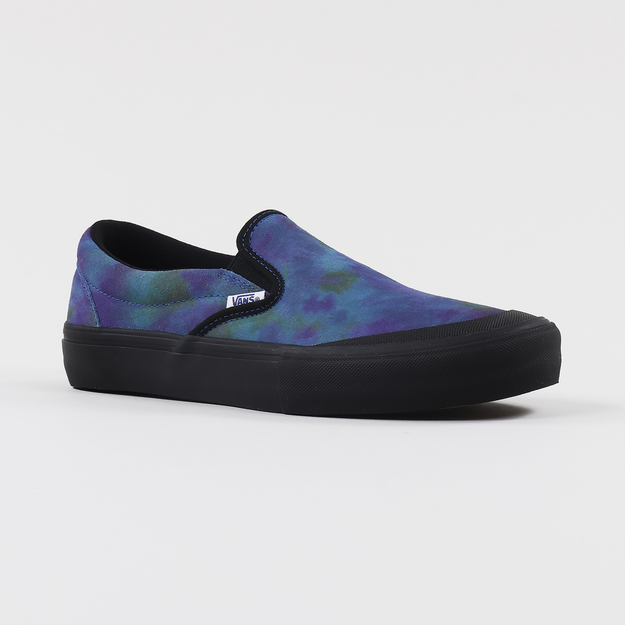 5632f46318af2f A pair of Vans  iconic Slip-On shoes from the Pro Skate range in a special  colourway for skater Ronnie Sandoval. Made from tough and durable  materials