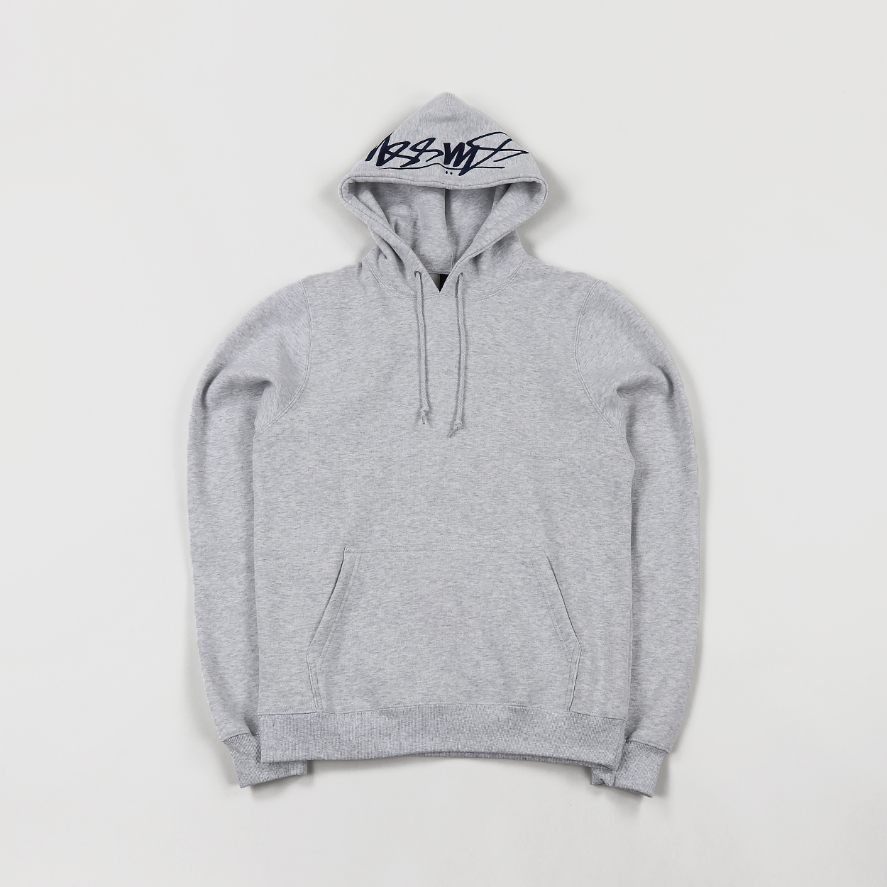 7eb1d2ad1 Stussy Mens Smooth Stock Applique Logo Hoodie Grey Heather £78.00