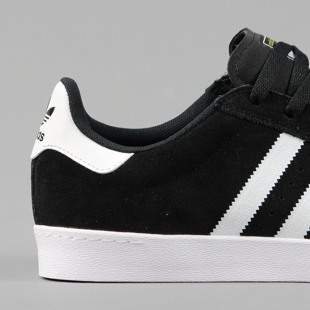 adidas superstar foundation shoes black and white