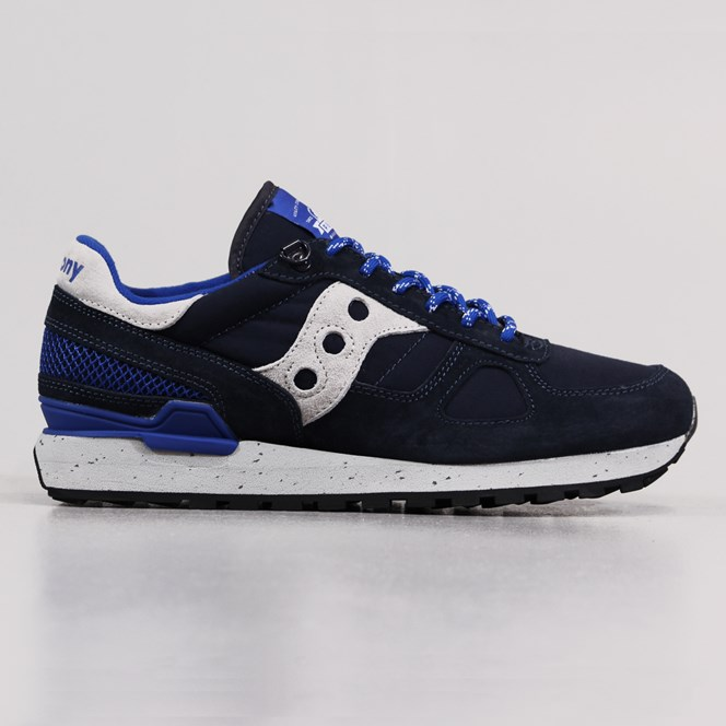 Penfield x Saucony Shadow Originals Shoes Navy Grey
