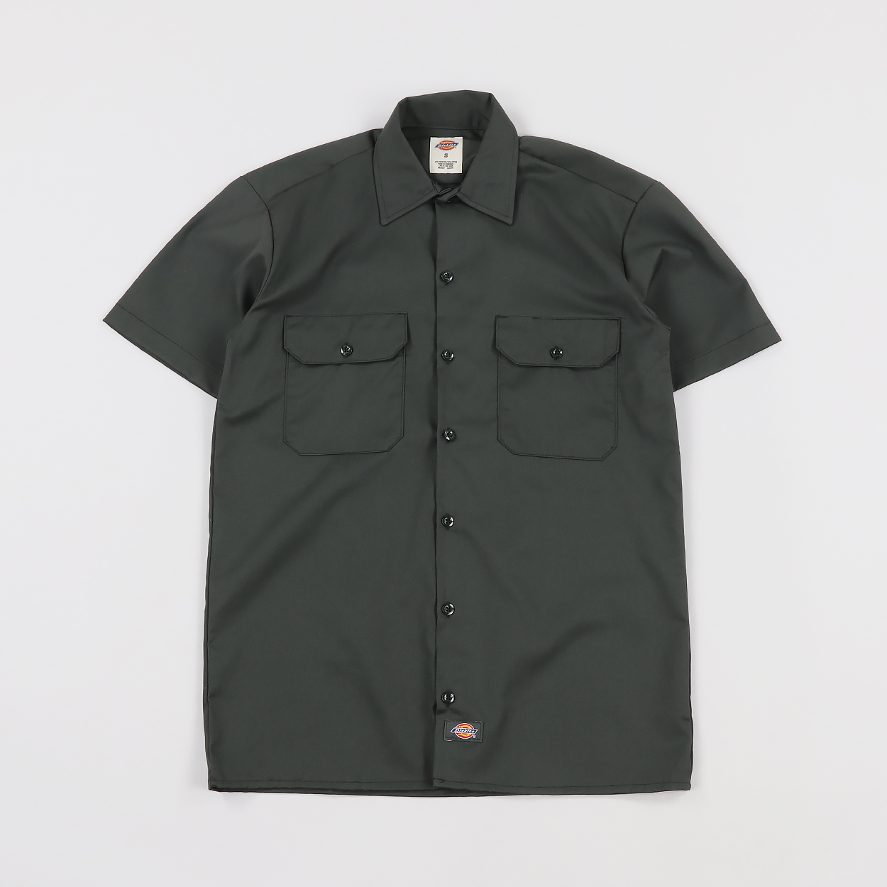 a69112a3642 Dickies Life Workwear Mens Short Sleeve Work Shirt Olive Green £23.00