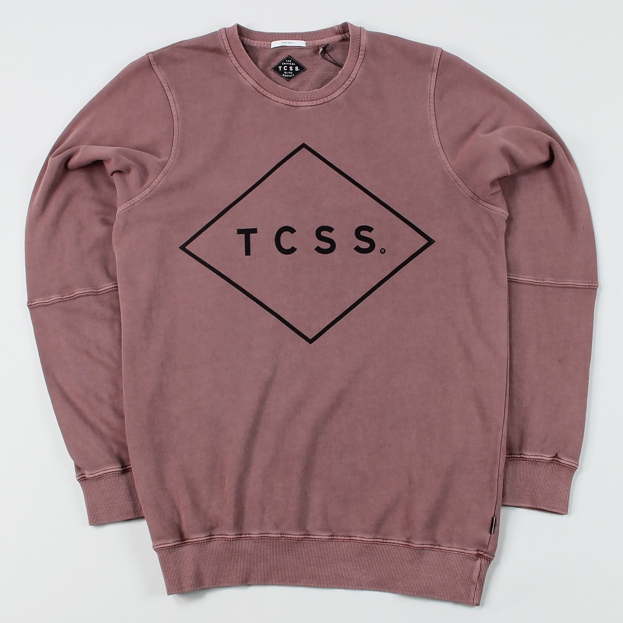 e998d677c0 The Critical Slide Society Standard Crew Sweater Withered Rose £34.00