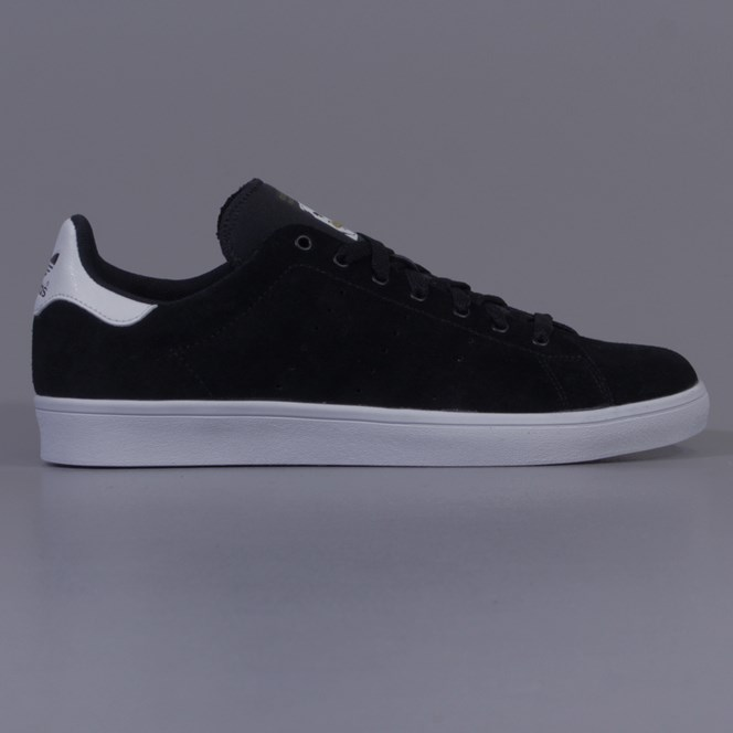 Adidas Stan Smith Vulc Shoes Black Running White