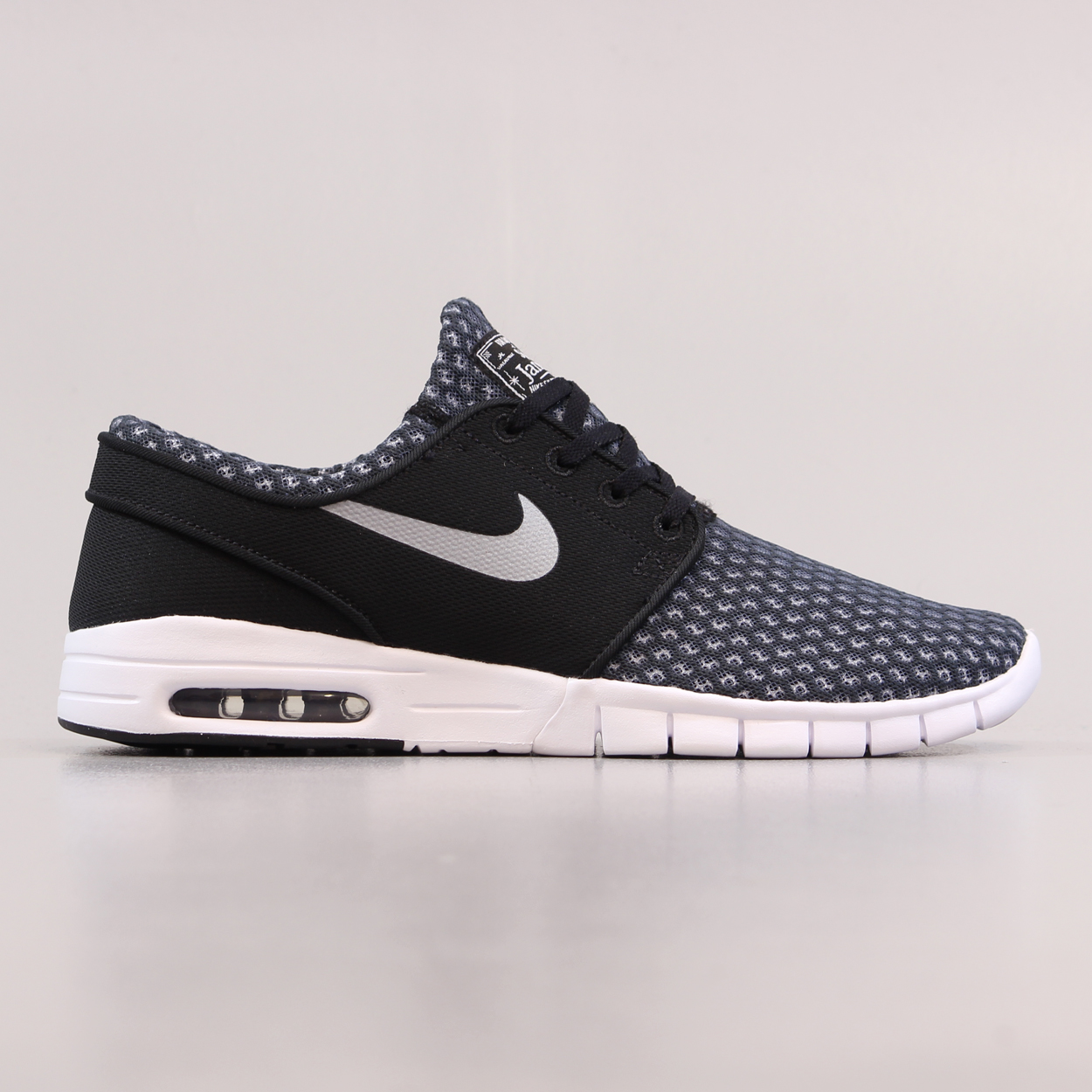 official photos 502ed 892e7 Nike SB Stefan Janoski Max Shoes Black Metallic Cool Grey White £67.50